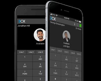 3CX Smart Phone App